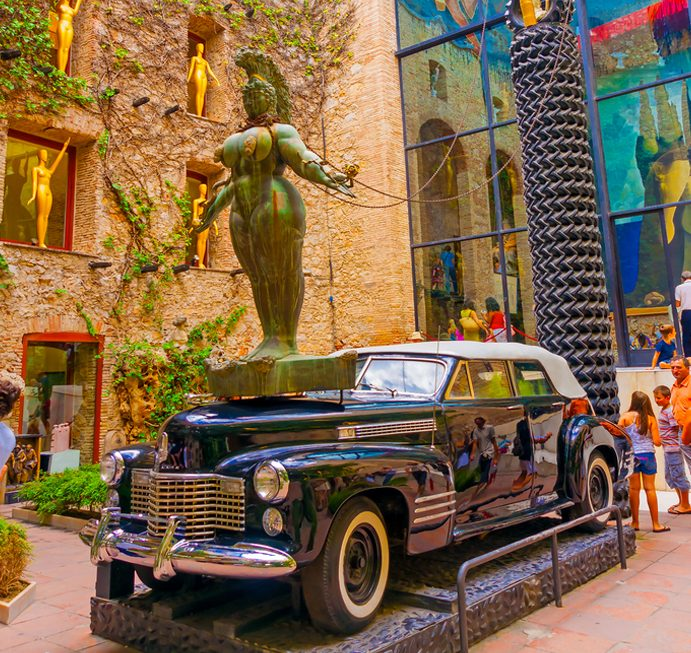 סיור בברצלונה - מוזיאון סלבדור דאליA