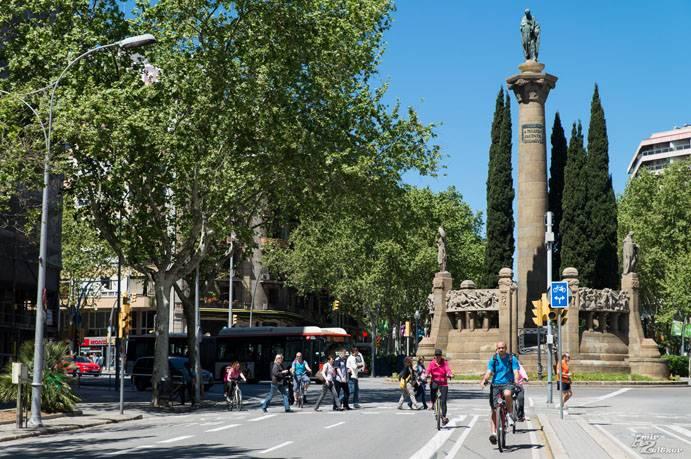טיול אופניים בברצלונה
